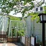 茶庵 芙蓉 - 『風の径』途中の第一温泉タンク場