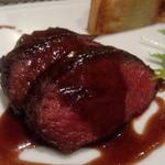 黒島 - 鹿肉のロースト