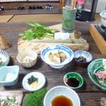 山菜料理 みたき園 - 桧料理第一陣
