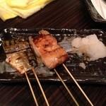 南郷つくね山海 - 焼き鯖串