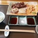 18741244 - 佐賀牛鉄板焼きランチ