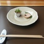 18741250 - あおりいかのサラダと鶏の蒸し物