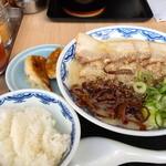 由丸 - チャーシュー麺とご飯セット(2013/05)