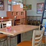 モスバーガー - テーブル席入口側