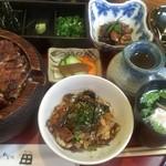 うなぎ 和食処 田 - ひつまぶし&肝わさ&肝焼き