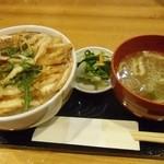 喜多山 - 白エビかき揚げ丼 シンプルで御座います