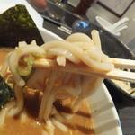 ぶっこ麺らーめん - つけ麺(冷えていて旨い)