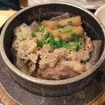18749353 - 牛肉とごぼうの釜飯