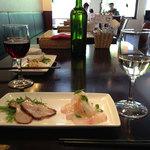 18749545 - ランチコース前菜+ワイン