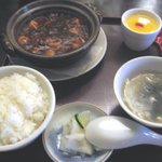 杏仁坊 - マーボー豆腐ランチ