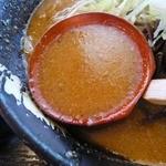 18750655 - 味噌らぁめんのスープ