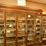 18754690 - 冷蔵庫には世界のビールがぎっしり