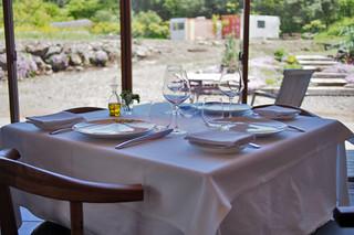 レストラン ビオス - ランチの窓際は景色も気持ち良いですよ。