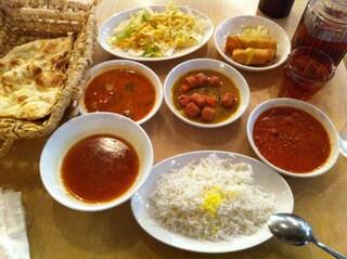 レストラン ザクロ - 谷中名物 幸せランチ(1,000円)