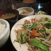 江戸川らんぷ - 料理写真:野菜炒め御飯セット 700円