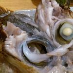 築地 魚一 - 築地 魚一 西葛西店 カンパチのかま焼き DHA・EPAの宝庫