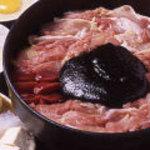 鳥料理 有明 - 鬼平が愛した五鉄の軍鶏鍋は正にこの軍鶏味噌鍋です