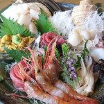 シーフードレストラン オールドリバー - お刺身盛合わせ