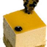 ル・ポミエ - キャラメル サレ 塩キャラメルのケーキ。フランス産ゲランドの塩を使用