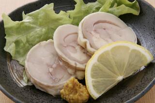 鳥料理 有明 - コース一例 自家製軍鶏ハム しっとりと仕上げた自慢の逸品です