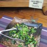 クローネ - 小松菜と油揚げの胡麻和え