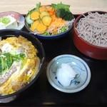 筑前 - 料理写真:カツ丼セット892円