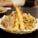 一喜 - 天ぷら盛り合わせ