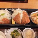 18763289 - 1日20食限定 ハーフ&ハーフセット 1000円 【 2013年5月 】