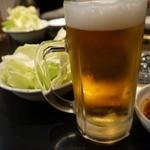 白竜 - ビールで乾杯