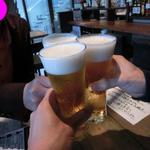 カフェゴーサンブランチ - 2013.05取り敢えずビールで