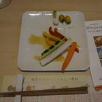 ななつの花 - 私の朝食、野菜が多い