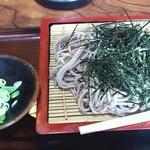やまと屋 - 料理写真:ざるそば ¥600
