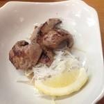 蓮花 - ホホ肉の塩焼き