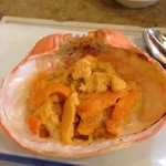 魚一 - ウニの甲羅焼き