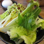 神戸サムギョプサル - 野菜サラダ