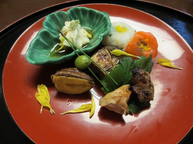 瓔珞 - 湯葉・お寿司・栗