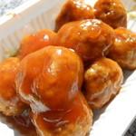 龍 - 肉ダンゴ甘酢ソース
