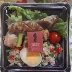 串くら かつくら - 2012/5 彩りそぼろの焼きとり丼