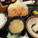 とんかつ こころ - チキンかつ定食¥630