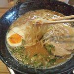 つなぎ亭 - 20130425らー麺700円自家製麺
