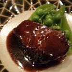 仲町竹田 - 牛頬肉の赤ワイン煮込み
