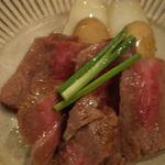 仲町竹田 - 自家熟成牛ロース肉のロティ