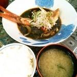 魚助 - 金目鯛煮定食 2,000円