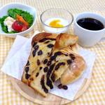 メイカセブン - 料理写真:モーニングセット ¥450