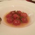 Magunoria - ミニトマトノハニーマリネ