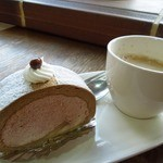 菓人 - (2013/4月)「ルーローカフェ」とホットコーヒー