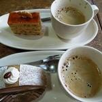 菓人 - (2013/4月)「菓人」と「ルーローカフェ」とホットコーヒー
