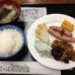 酸ヶ湯温泉旅館 - 朝食