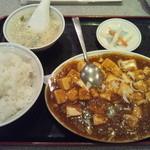 安泰楼 - 日替わりランチ(麻婆豆腐)
