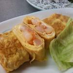中村酒店 - 料理写真:えび入り玉子焼き